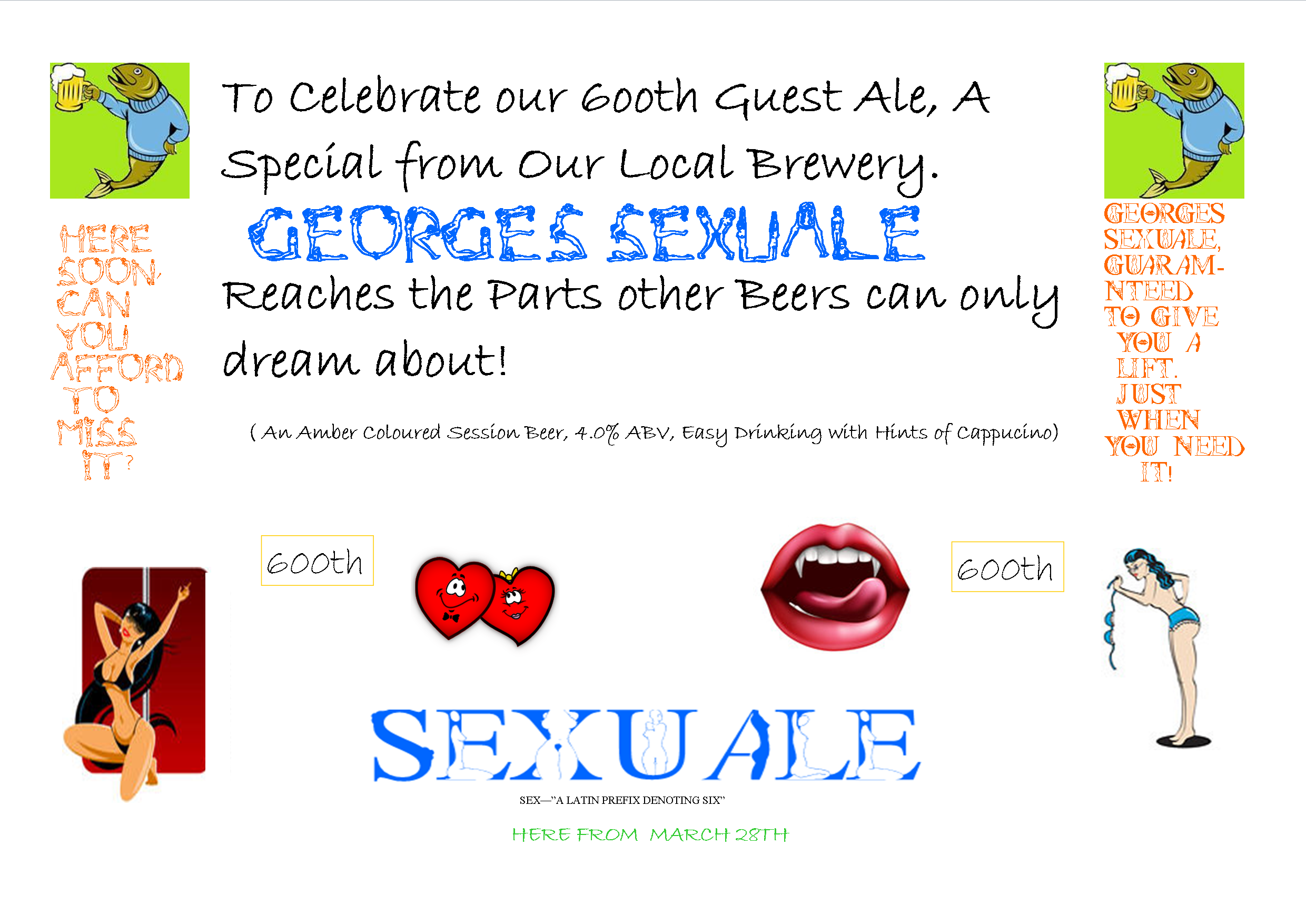 George's Sexuale 600th Guest Ale Celebration
